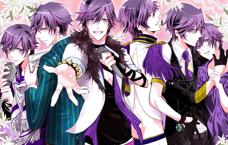 Photo wallpaper art, Ichinose Tokiya, Uta no Prince-sama, Singing princes