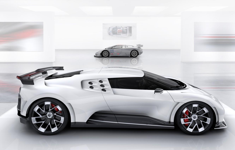 Photo wallpaper Bugatti, generation, hypercar, One hundred and ten