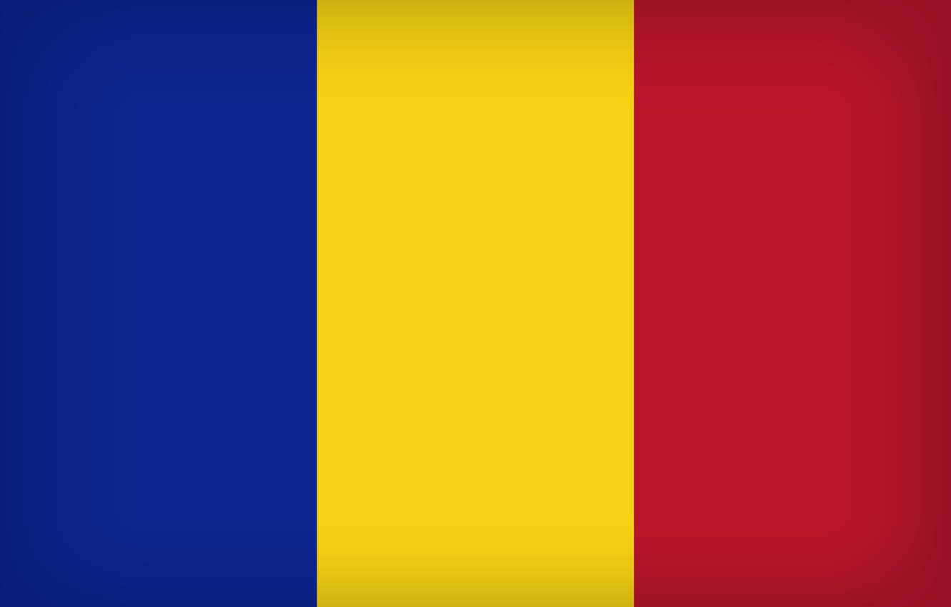Photo wallpaper Flag, Romania, Romanian Flag, Flag Of Romania, Romania Large Flag