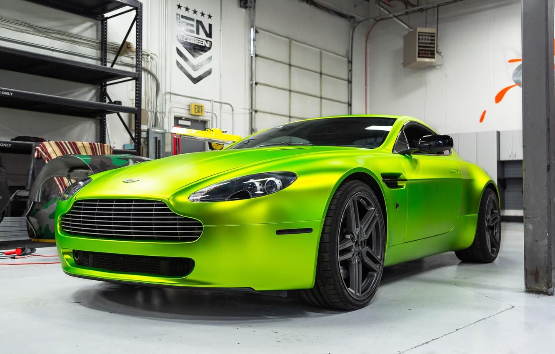 Photo wallpaper Aston Martin, Vantage, Hybrid, Forged, HF-1