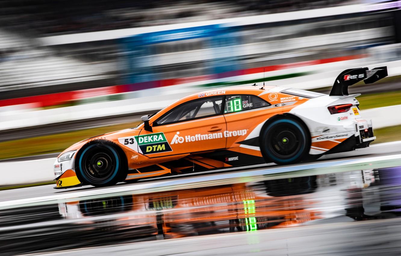 Photo wallpaper Audi, Audi, Motorsport, racing car, racing car, Audi RS 5 DTM, motorsports, 2019, Jamie Green, …