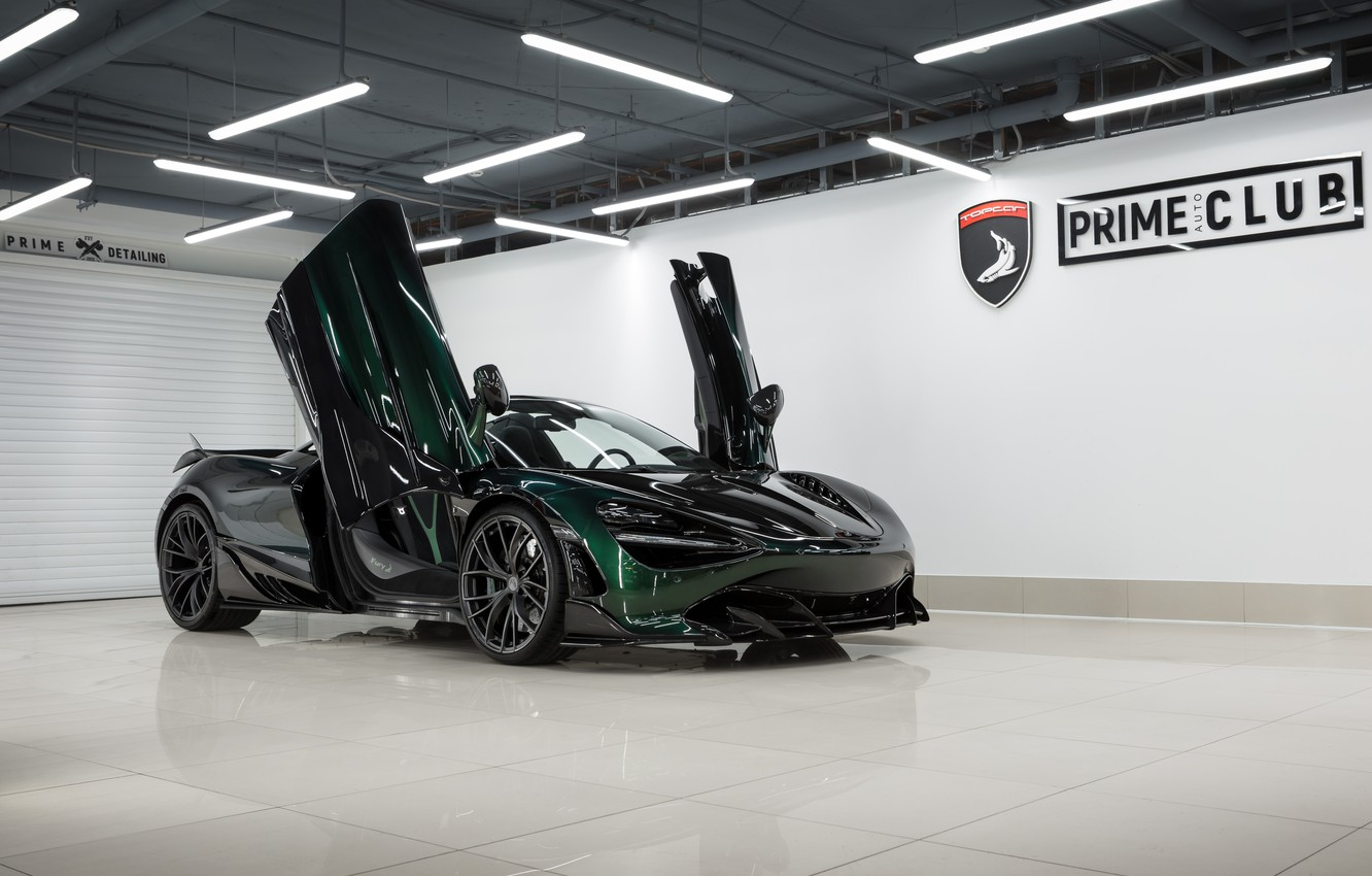 Photo wallpaper McLaren, door, supercar, Spider, Ball Wed, Fury, 2020, 720S