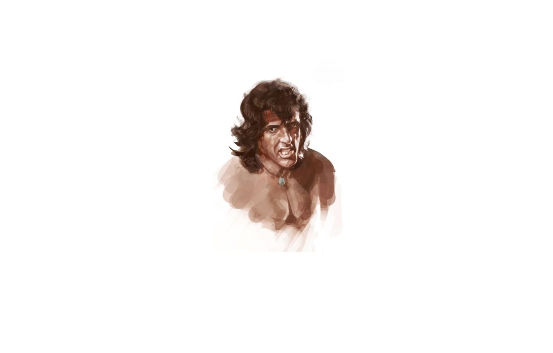 Photo wallpaper Sylvester Stallone, Rambo, Rambo