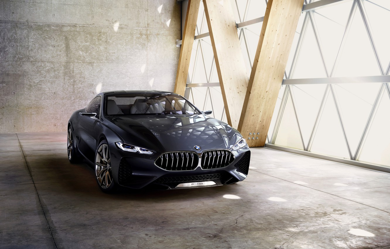 Photo wallpaper Concept, coupe, BMW, BMW, the concept car, 2017, 8-series, 8 series