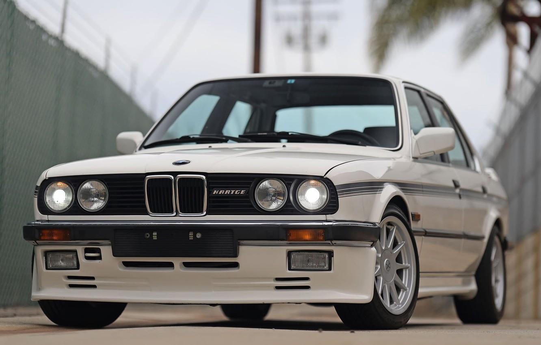 Photo wallpaper BMW, COUPE, E30, H26, HARDGE
