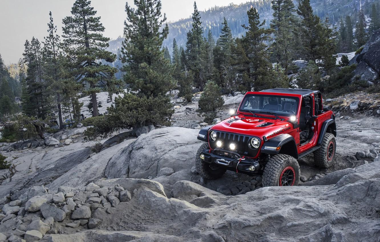 Photo wallpaper with, Mopar, Jeep Wrangler, 2018 Jeep Wrangler with Mopar Jeep Performance Par, Jeep Performance Parts