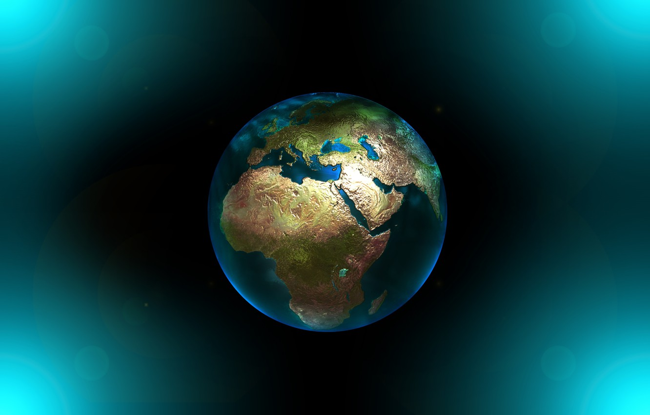 Photo wallpaper the world, planet, Earth