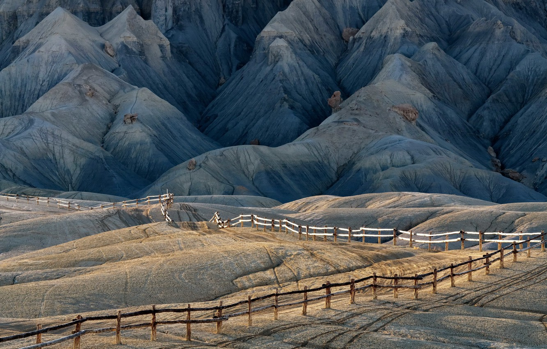 Photo wallpaper United States, Utah, Wayne, San Rafael Reef
