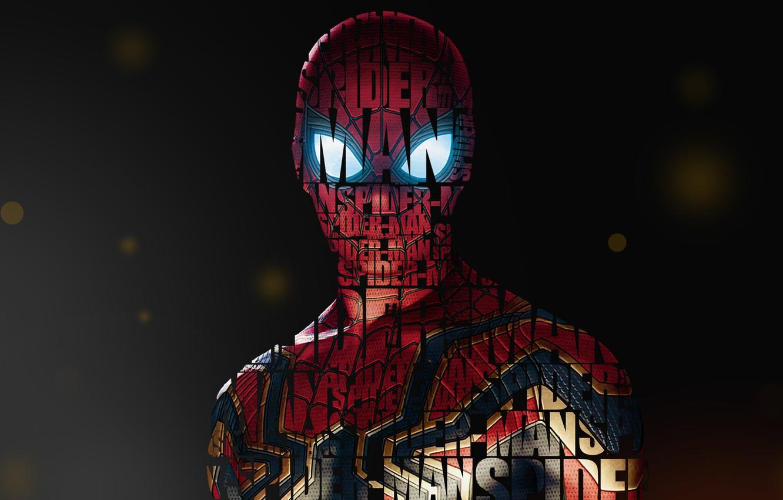 Photo wallpaper Girl, Fantasy, Art, Style, Background, Illustration, Spider-Man, Spider Man, Typography, Creatures, Character, Umesh Dikonda