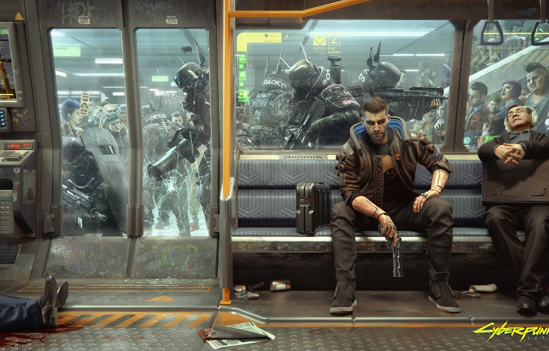 Photo wallpaper game, weapons, metro, army, hero, gun, Taran, cyberpunk, games, special forces, army, cyberpunk, metro, hero, …