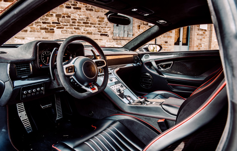 Photo wallpaper coupe, the wheel, salon, V10, De Tomaso Pantera, Hurricane, Lamborghini Huracan, 2020, two-door, Project1, Panther …