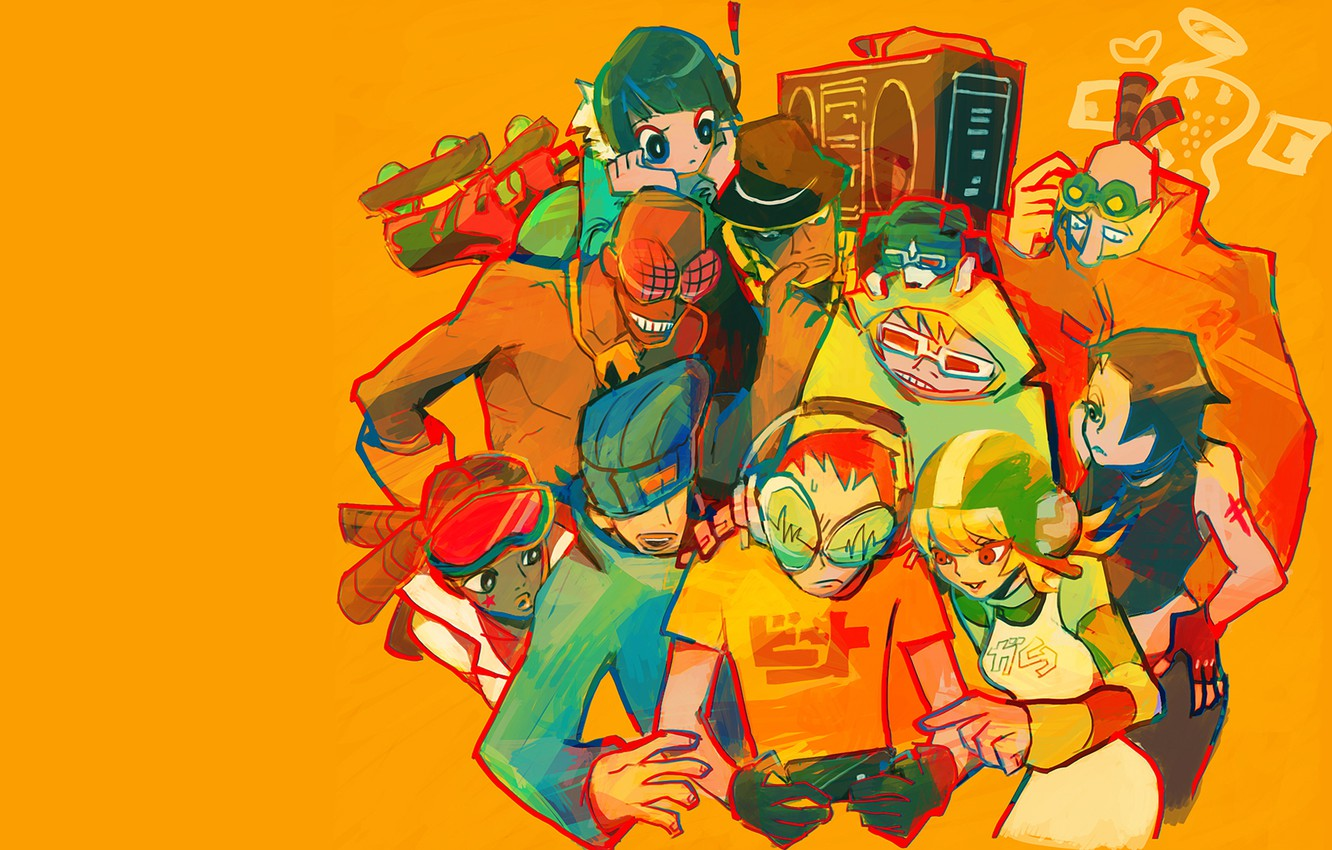Wallpaper Art Characters Jet Set Radio Images For Desktop