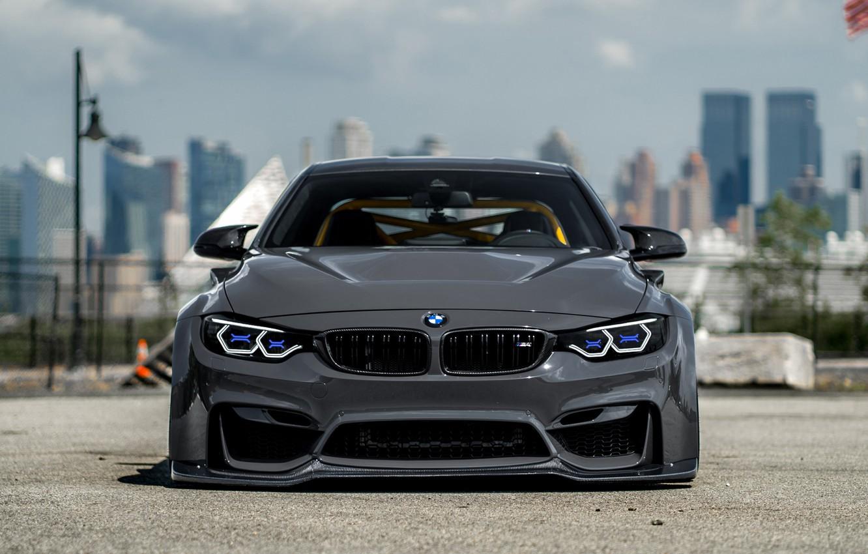 Photo wallpaper BMW, F82, M4, Wide-Body