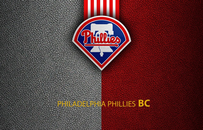 Photo wallpaper wallpaper, sport, logo, baseball, Philadelphia Phillies