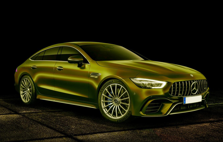 Photo wallpaper auto, background, color, Mercedes