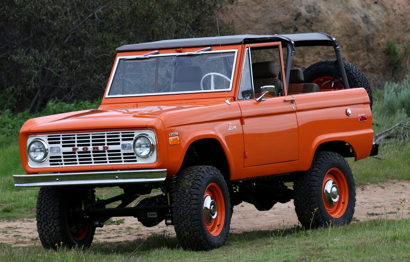 Photo wallpaper Ford, SUV, 1966, Bronco, 2019, ICON Old School BR