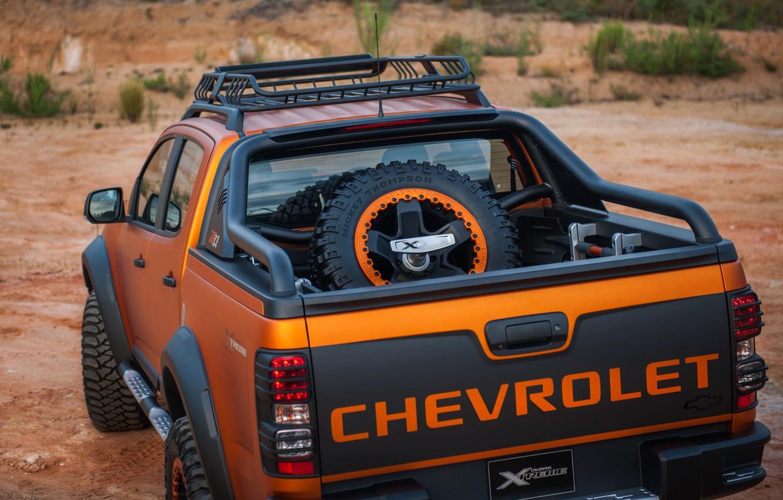 Photo wallpaper Chevrolet, pickup, 4x4, Colorado, feed, Z71, 2016, Xtreme Concept