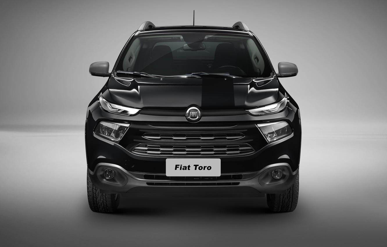 Photo wallpaper Fiat, Fiat, 2017, Fiat Toro Black Jack