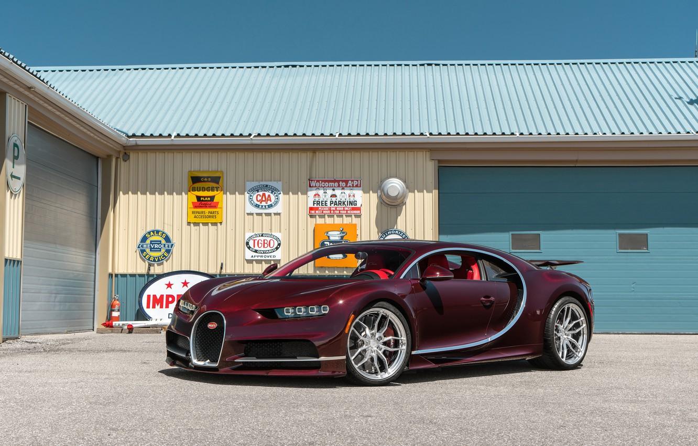 Photo wallpaper Bugatti, Chiron, ANRKY, AN11