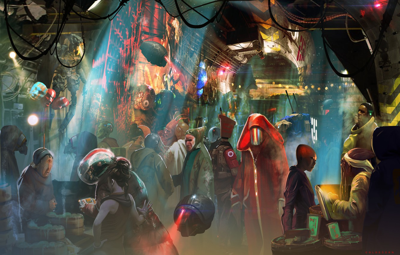 Photo wallpaper creatures, crank, aliens, Col Price, Trading Post: Gateway mmo