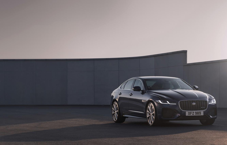 Photo wallpaper Jaguar, sedan, four-door, Jaguar XF, 2020, XF