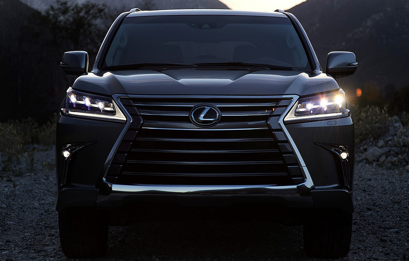 Photo wallpaper car, style, Auto, fashion, Lights, new, 2018, Luxury, LEXUS LX 570, quality, 2017, qualities, WHELLS, …