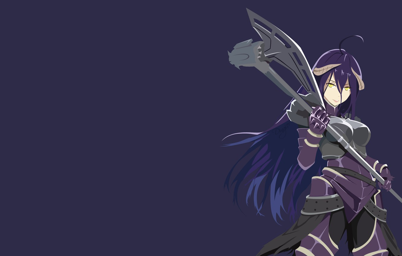 Wallpaper Overlord Lord Albedo Albedo Images For Desktop Section Syonen Download