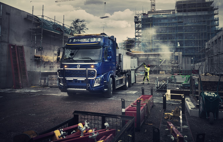 Photo wallpaper Volvo, Volvo, truck, Volvo Trucks, Volvo FMX