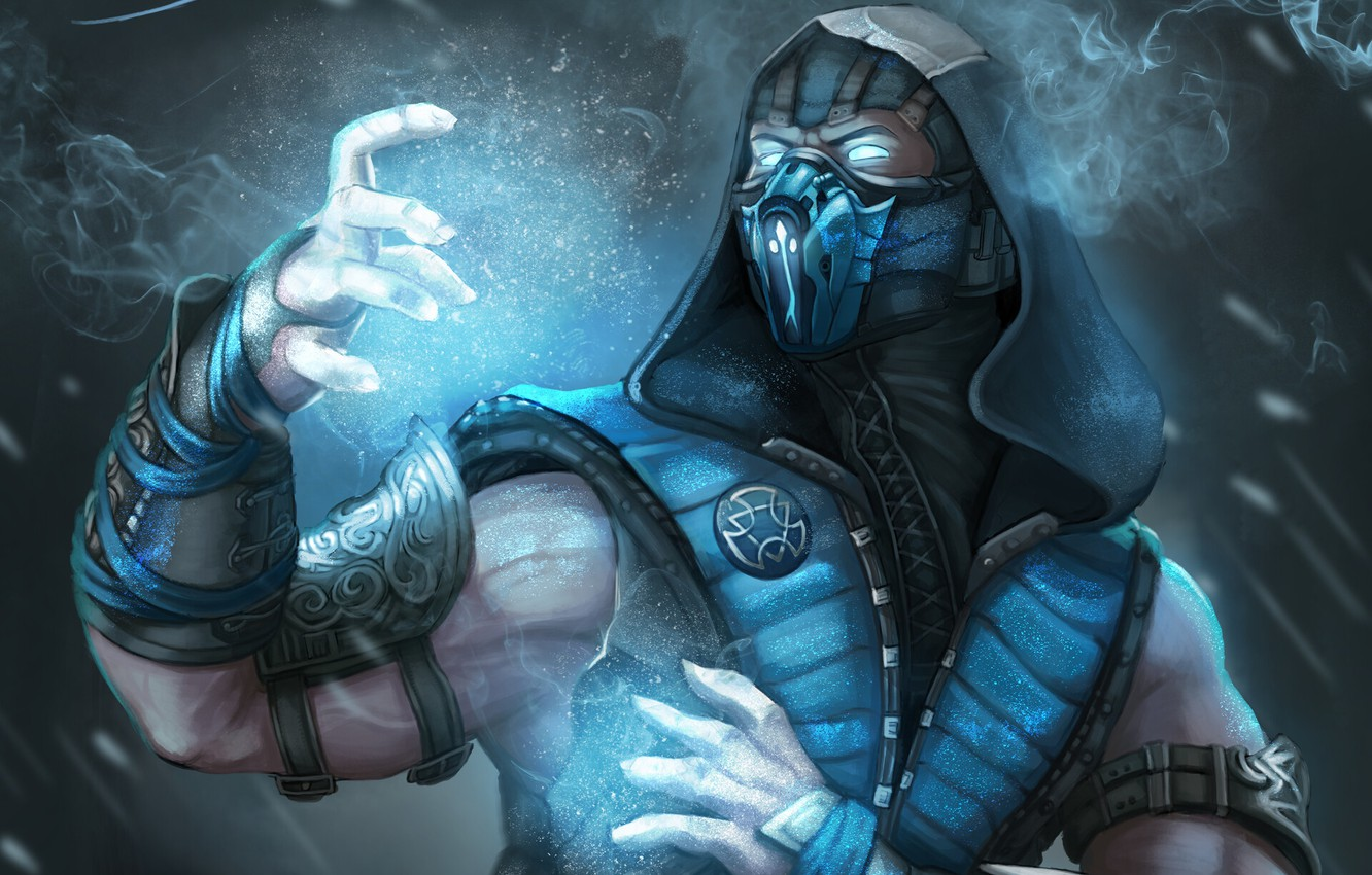 Wallpaper Frost Warrior Mortal Kombat Sub Zero Images For