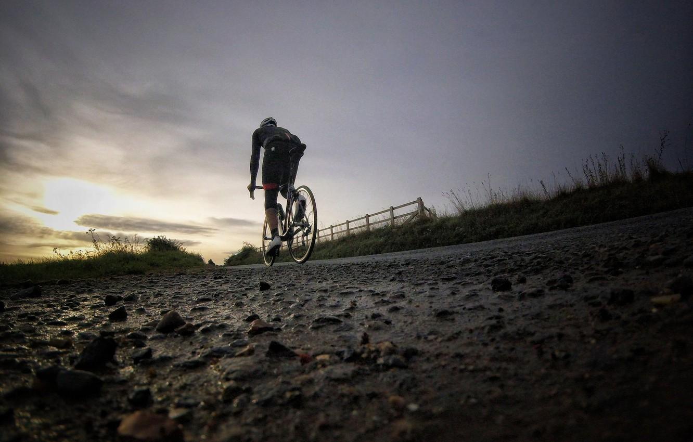 Wallpaper Road Bike Sport Morning Athlete Road Builder