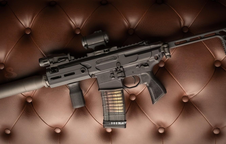 Photo wallpaper weapons, rifle, weapon, muffler, custom, M16, ar-15, assault rifle, m16, assault Rifle, ar-15, silenser, ar …