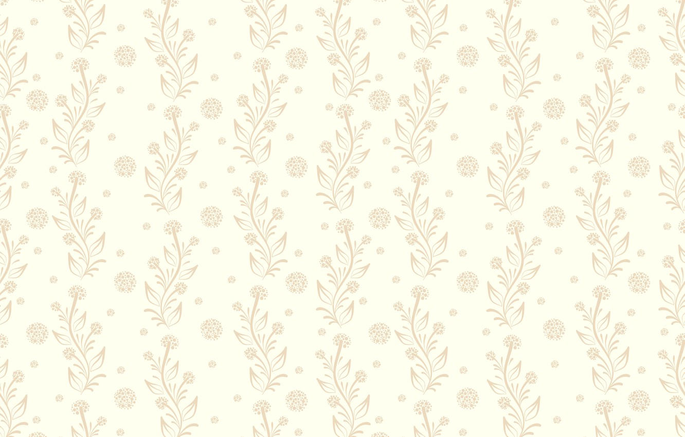 Photo wallpaper flowers, background, Wallpaper, vintage, floral, seamless