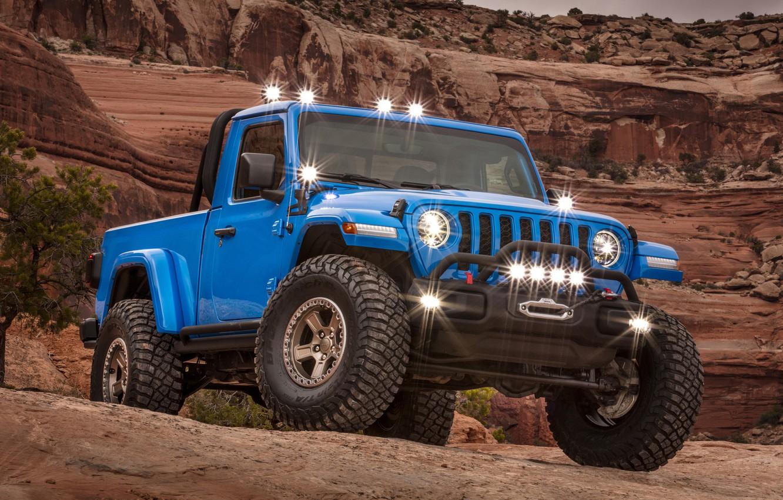 Photo wallpaper Gladiator, Jeep, 2019, Jeep J6