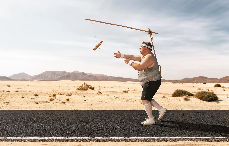 Photo wallpaper people, running, training