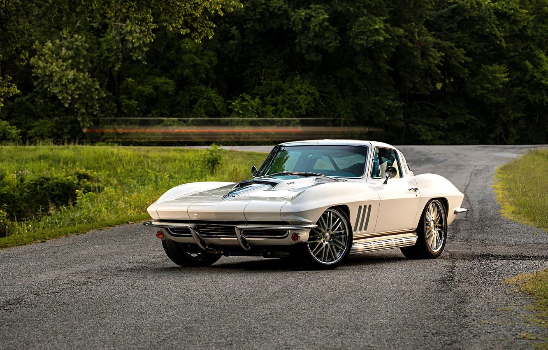 Photo wallpaper Corvette, Chevrolet, Car, Coupe