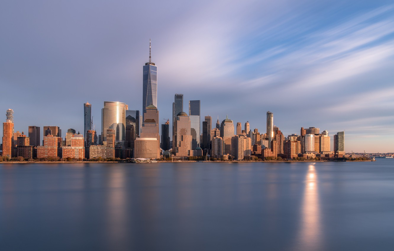Photo wallpaper USA, New York, NYC