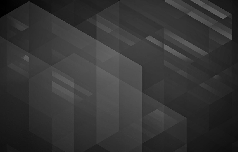 Photo wallpaper line, grey, background, corners, texture, dark, the volume