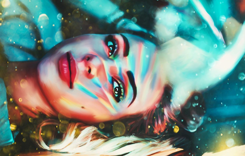 Photo wallpaper girl, art, charly jordan, art by ilrs