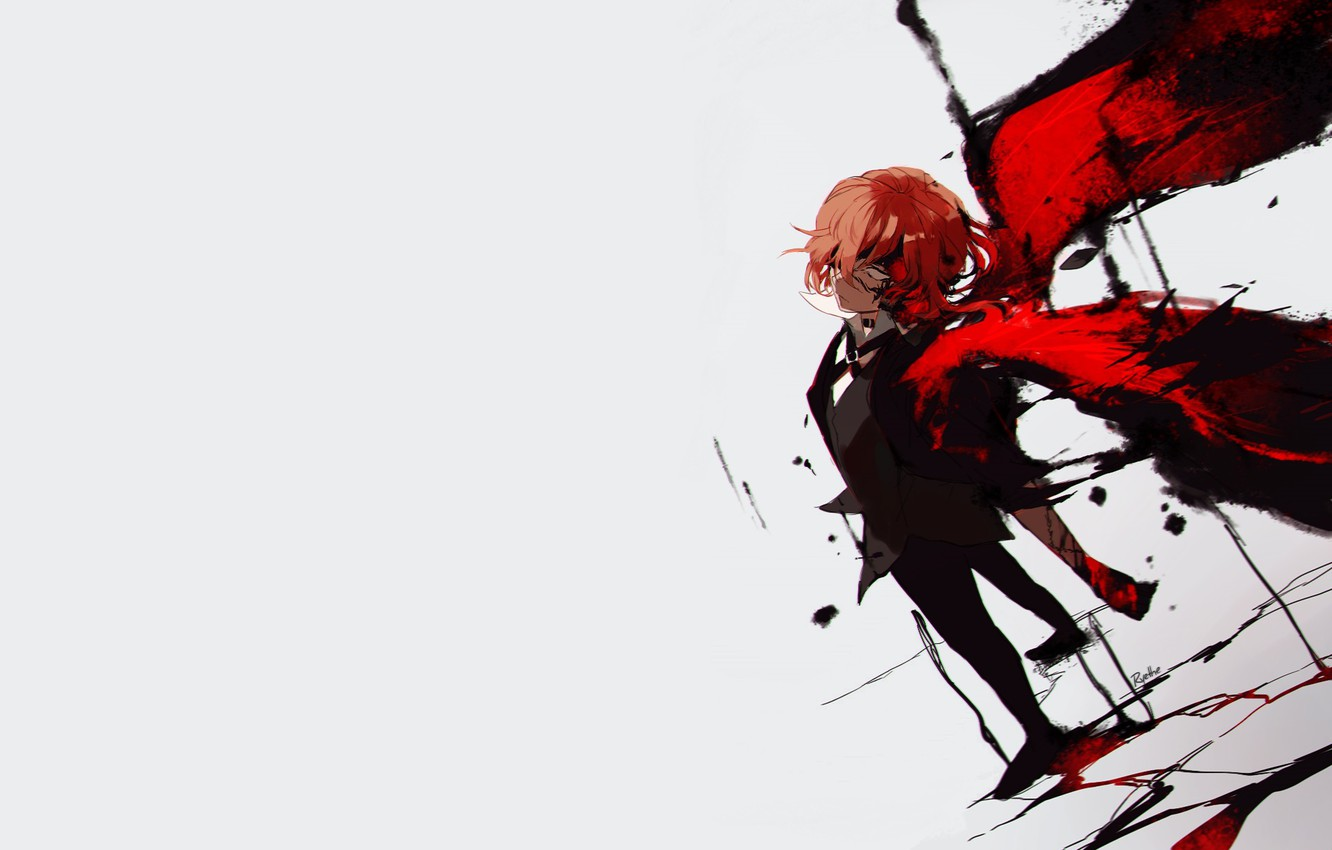 Wallpaper Wings Guy Gul Bungou Stray Dogs Stray Dogs A Literary