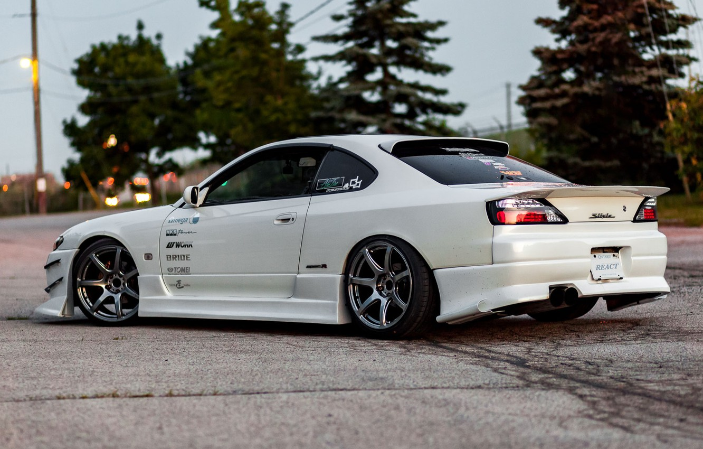 Photo wallpaper Silvia, Nissan, Nissan Silvia