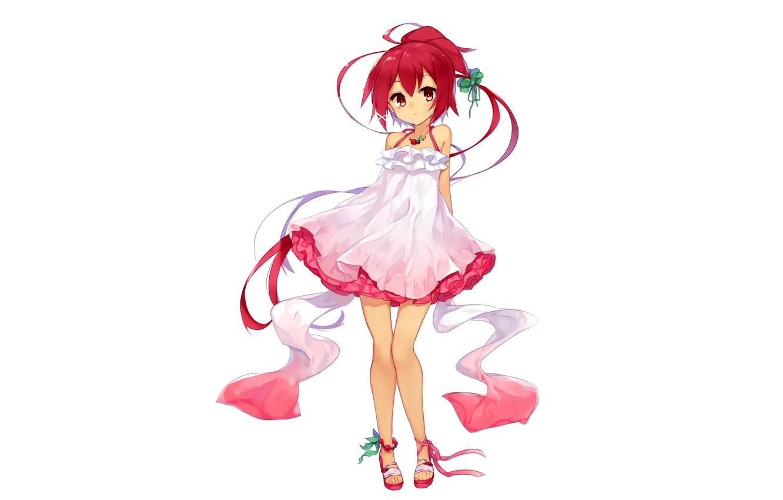 Photo wallpaper girl, anime, beautiful, short hair, pretty, redhead, attractive, handsome, Azur Lane, I 168