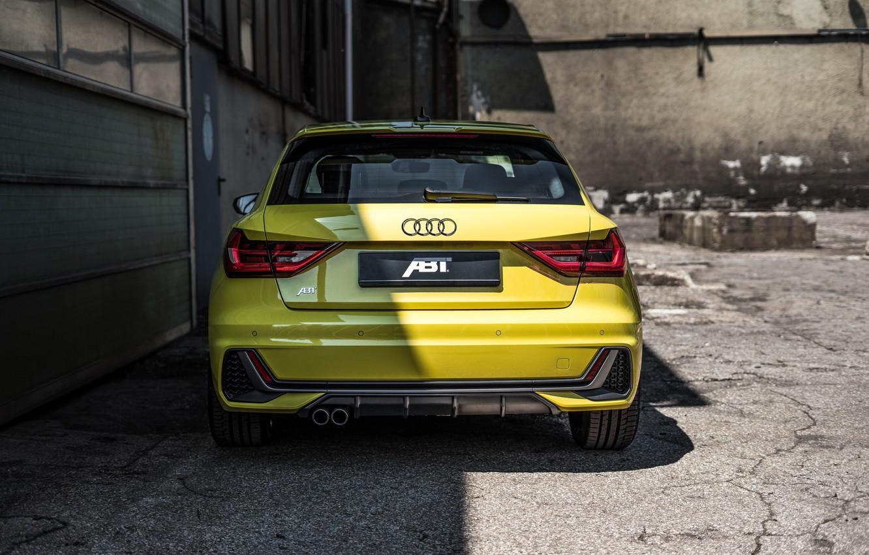 Photo wallpaper Audi, rear view, hatchback, ABBOT, Audi A1, 2019