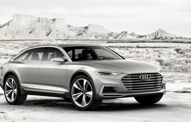 Photo wallpaper Concept, Audi, Allroad, universal, AWD, 2015, Prologue