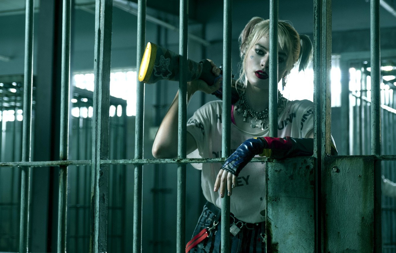 Photo wallpaper Harley Quinn, Harley Quinn, Birds of Prey, Margot Robbie, 2020, superhero film, superhero film, Birds …