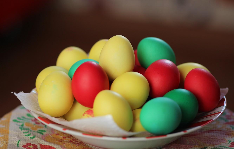 Photo wallpaper background, eggs, Easter