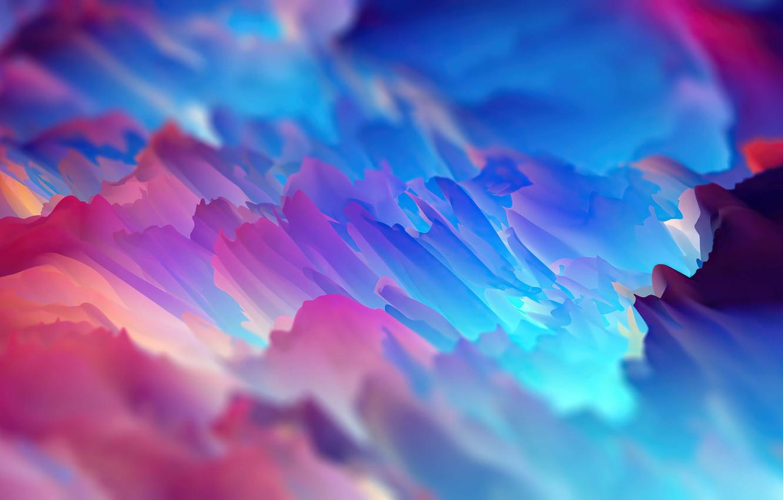 Photo wallpaper Red, Lilac, Blue, Purple, Abstraction, Bright, Colorful, Bright colors, Bright Colors, Высокое качество