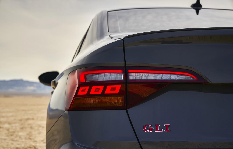 Photo wallpaper ass, Volkswagen, Jetta, sedan, GLI, 2019