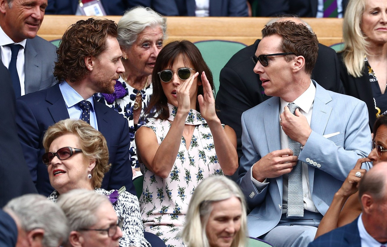 Photo wallpaper people, Benedict Cumberbatch, Benedict Cumberbatch, Tom Hiddleston, Tom Hiddleston, Sophie Hunter