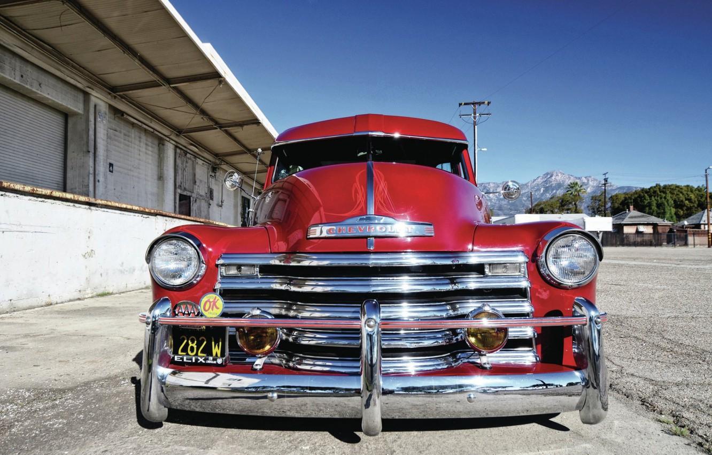 Photo wallpaper Classic, Chevy, Retro