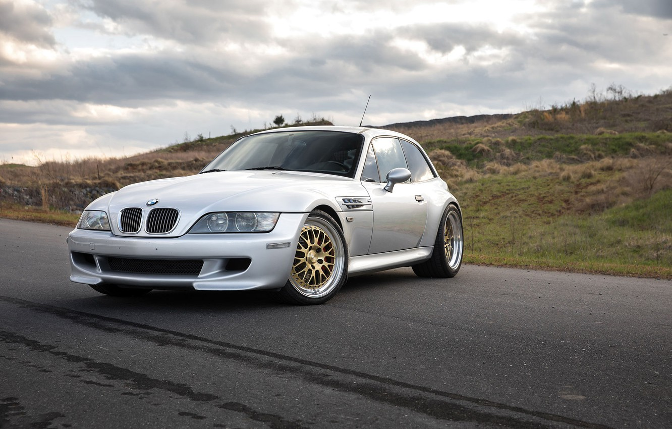 Photo wallpaper BMW, with, Gold, Lips, Silver, CCW, Polished, LM20, Z3